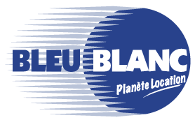 logo bleu blanc location